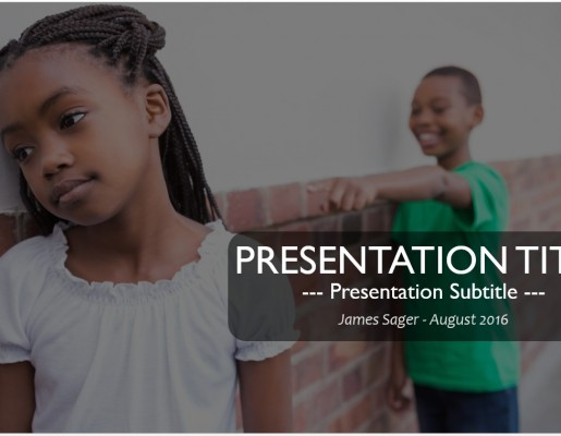 Bullying powerpoint free bullying powerpoint templates sagefox free school bullying powerpoint toneelgroepblik Images