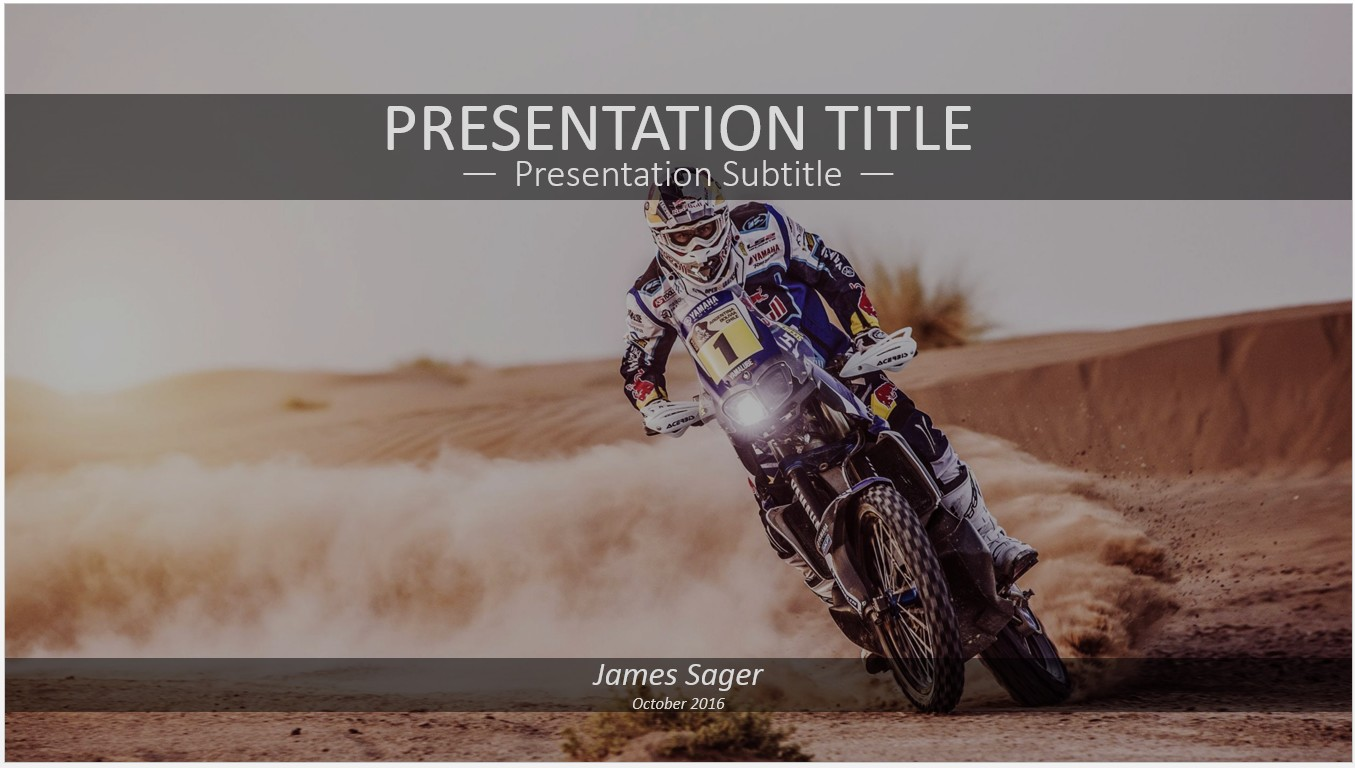 Free motocross powerpoint 14914 sagefox powerpoint templates by james sager toneelgroepblik Images