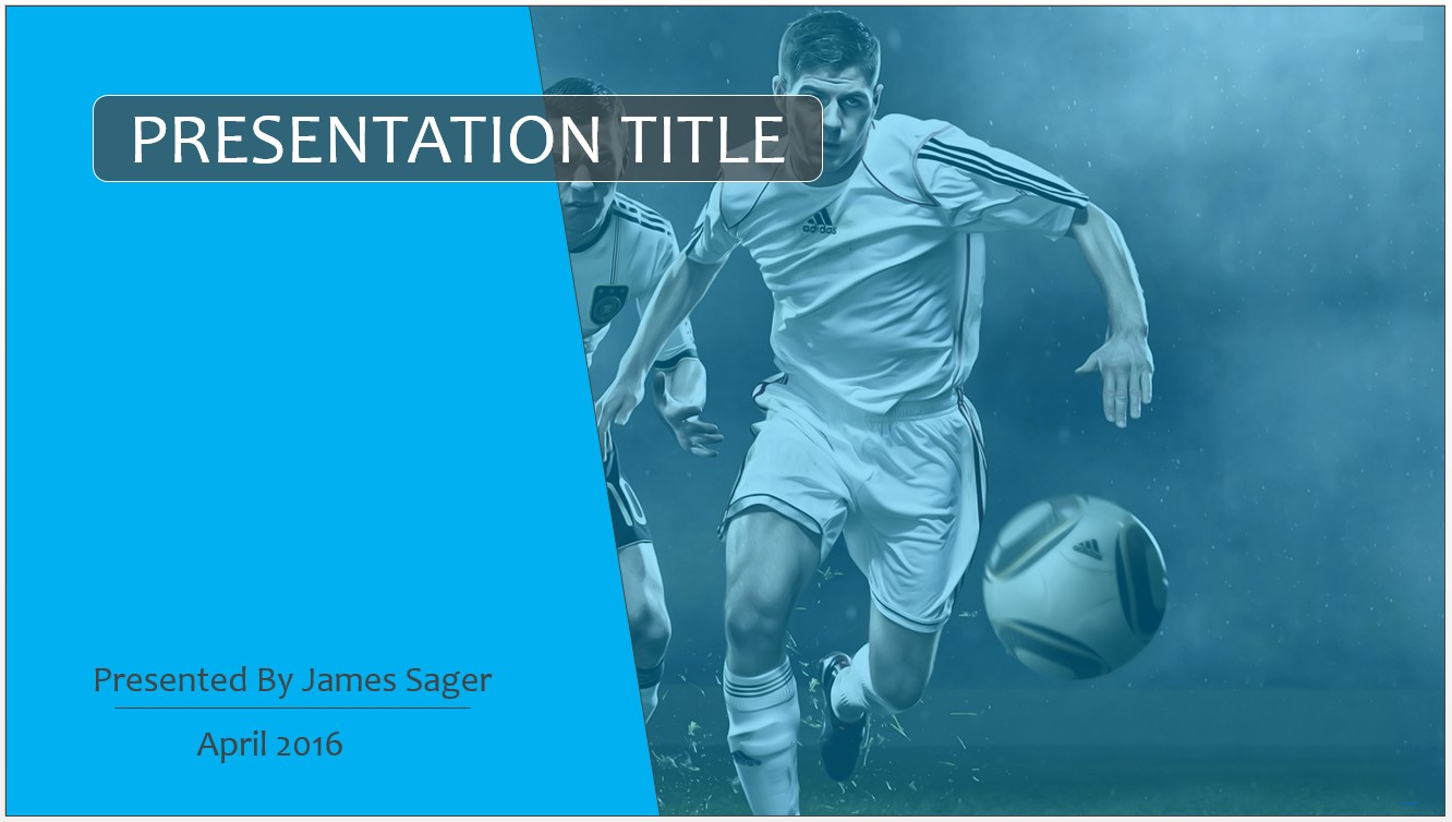 Free soccer powerpoint 15258 sagefox powerpoint templates by james sager toneelgroepblik Image collections