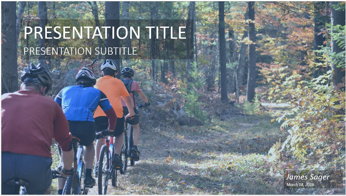 Cycling ppt selol ink free mountain biking powerpoint 17864 sagefox powerpoint templates toneelgroepblik Image collections