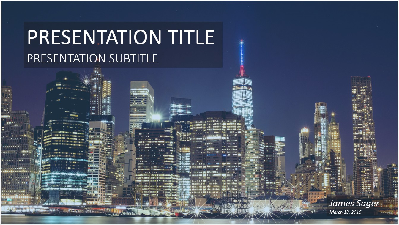 Free new york city powerpoint 17894 sagefox powerpoint templates by james sager toneelgroepblik Choice Image