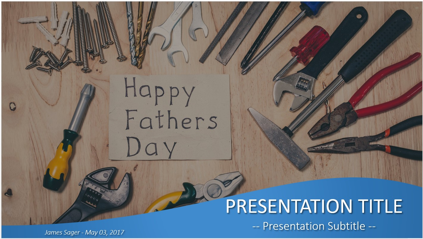 father s day powerpoint template