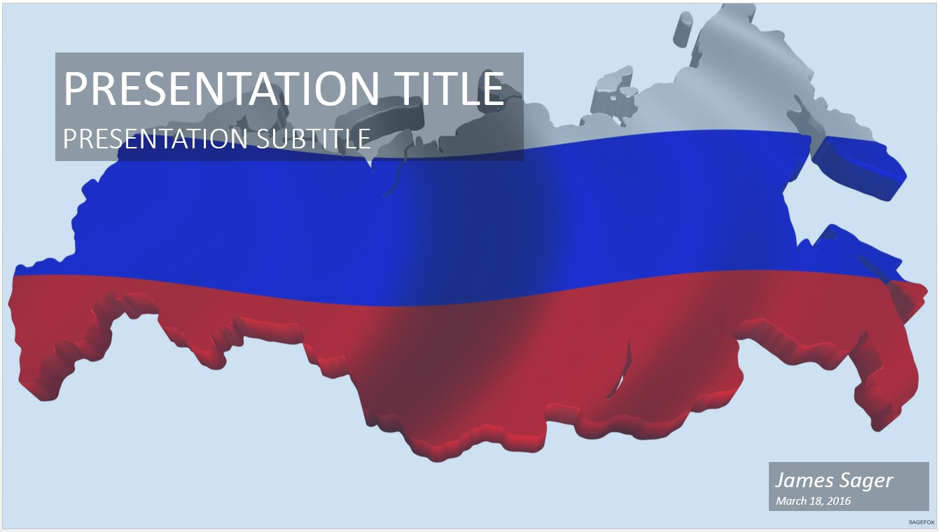 Free map of russia powerpoint 22924 sagefox powerpoint templates by james sager toneelgroepblik Images