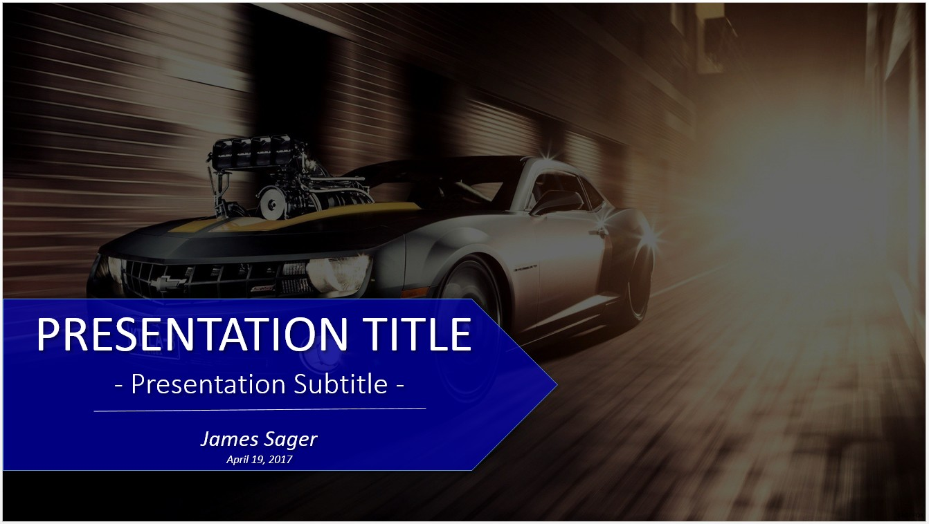 Free car powerpoint 23355 sagefox powerpoint templates by james sager toneelgroepblik Image collections