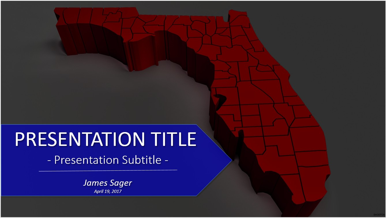Free florida powerpoint 23415 sagefox free powerpoint templates by james sager toneelgroepblik Image collections