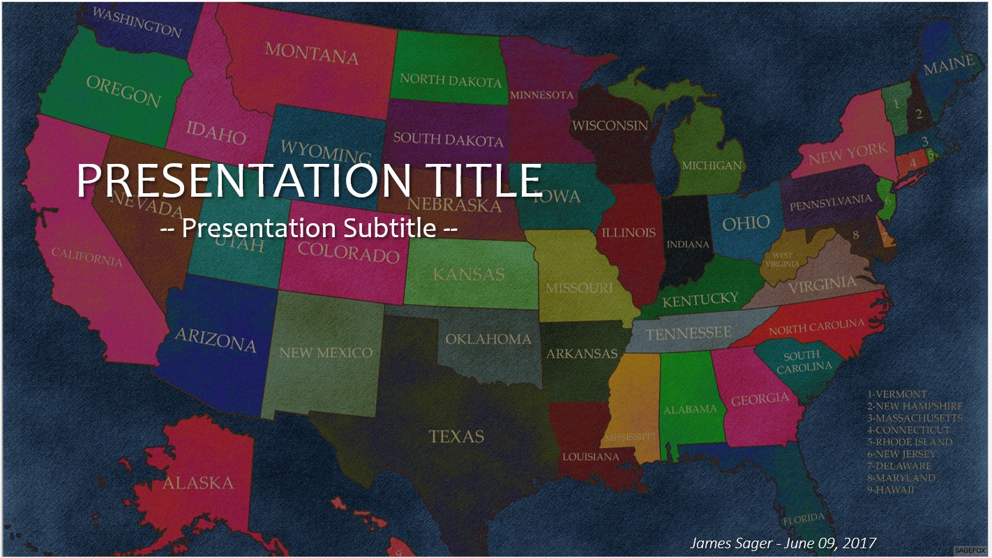 free editable us map for powerpoint
