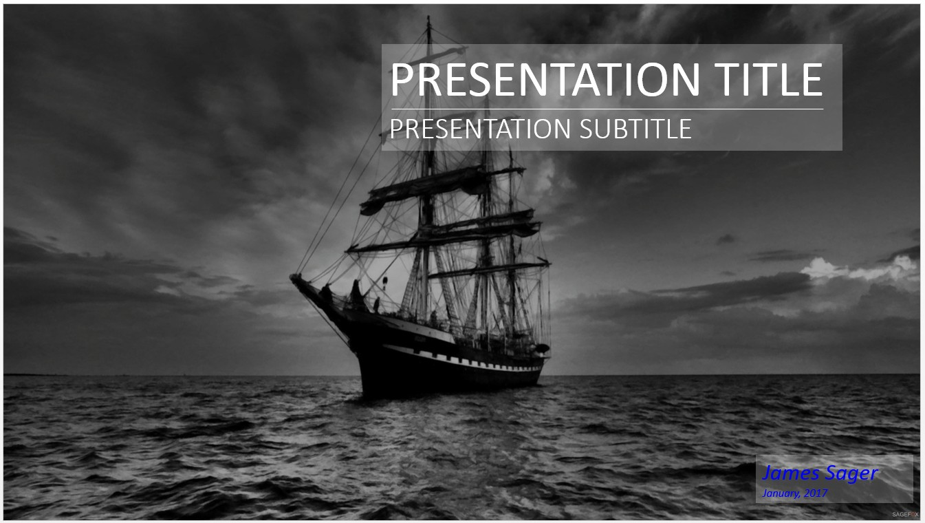 Free pirate ship powerpoint 27057 sagefox powerpoint for Pirate ship sails template