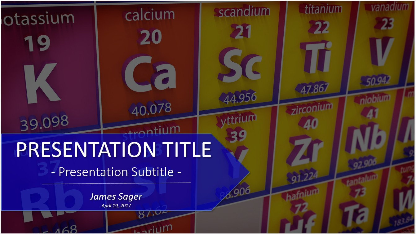Periodic Table Powerpoint Template Pictures 6352 01 Periodic