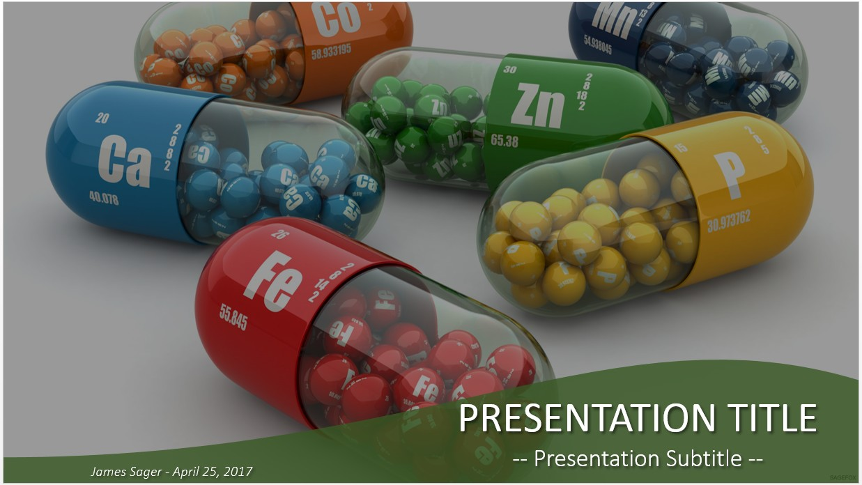 Free vitamins powerpoint 21606 sagefox powerpoint templates by james sager toneelgroepblik Image collections