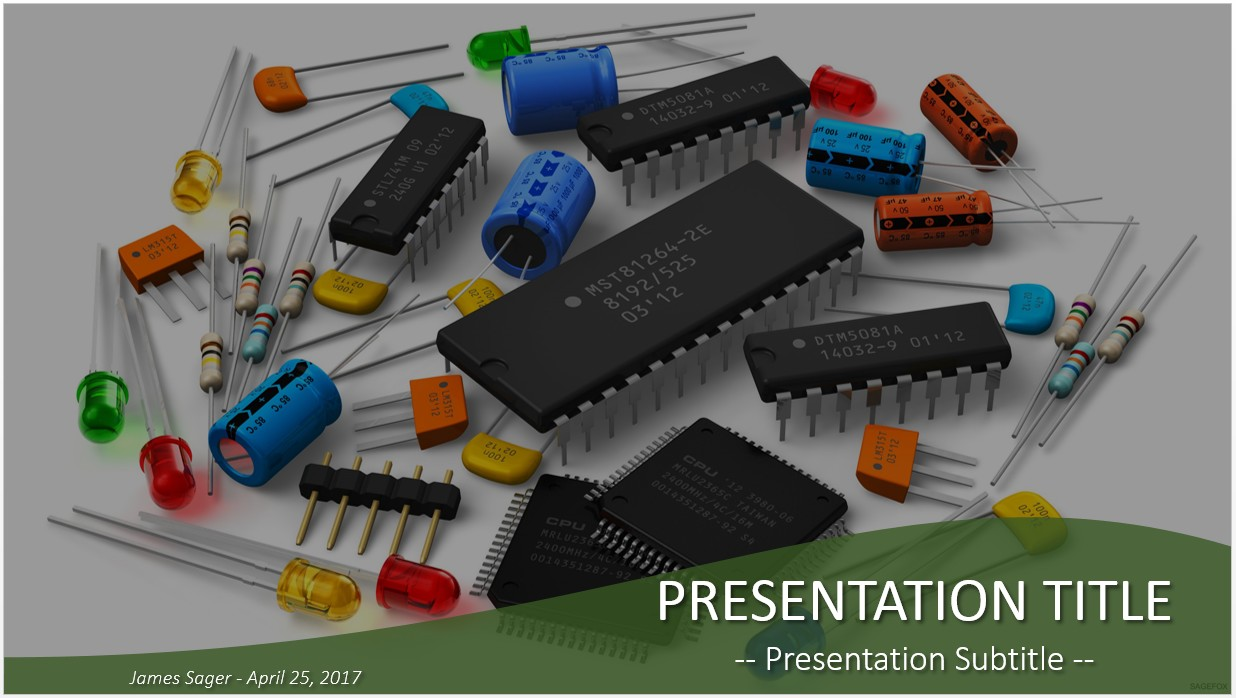 Free electronic components powerpoint 21636 sagefox powerpoint by james sager toneelgroepblik Gallery