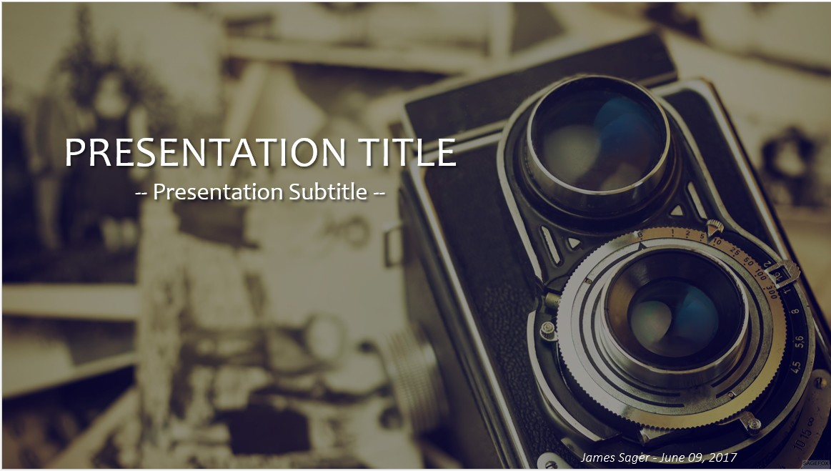 Free vintage car and train powerpoint 18529 sagefox powerpoint vintage camera powerpoint toneelgroepblik Images