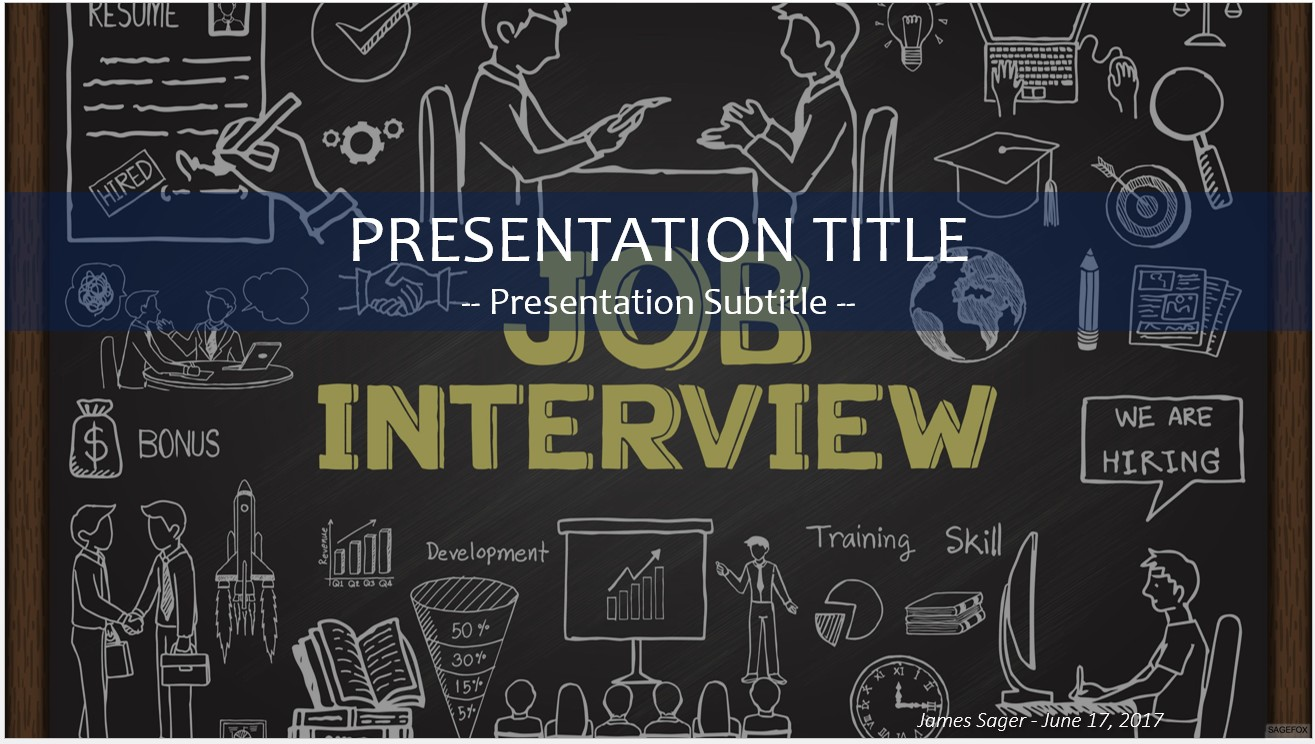 Free job interview powerpoint 24709 sagefox free powerpoint job interview powerpoint toneelgroepblik Image collections