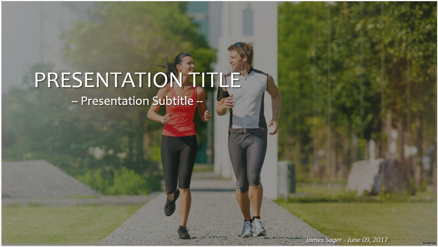 Free running powerpoint 25345 sagefox powerpoint templates by james sager toneelgroepblik Image collections