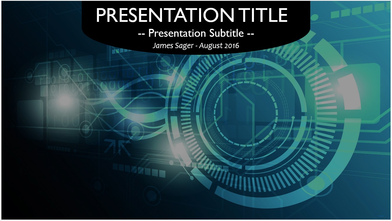 Free technology blueprint powerpoint 26600 sagefox powerpoint by james sager malvernweather Images