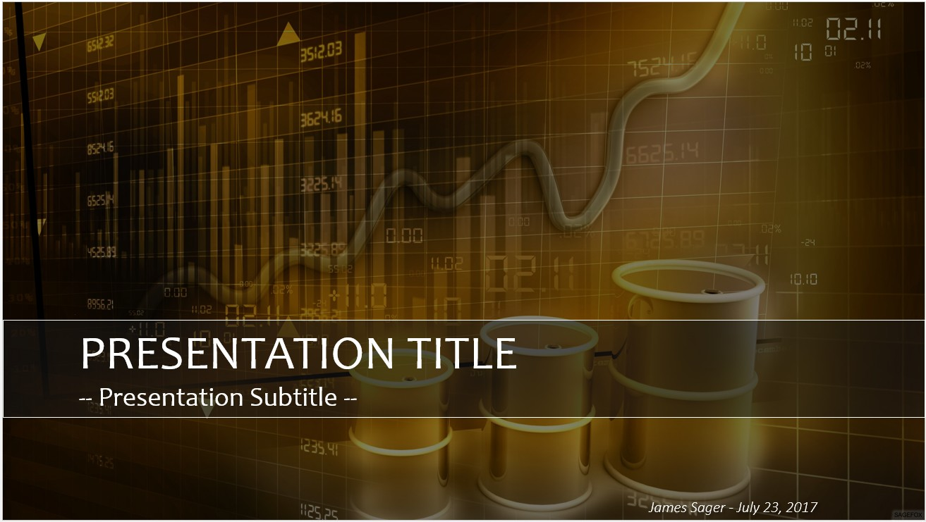 Free stock market oil prices powerpoint 26695 sagefox please share this free powerpoint template toneelgroepblik Image collections