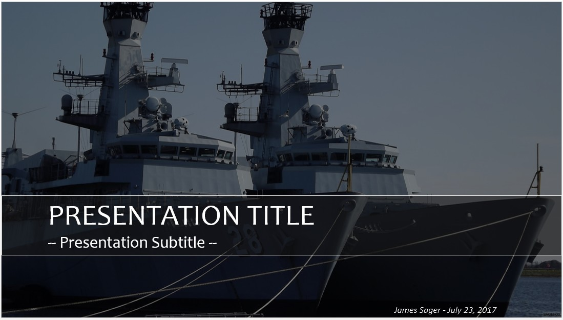 Free Military Ships Powerpoint 26830 Sagefox Powerpoint Templates