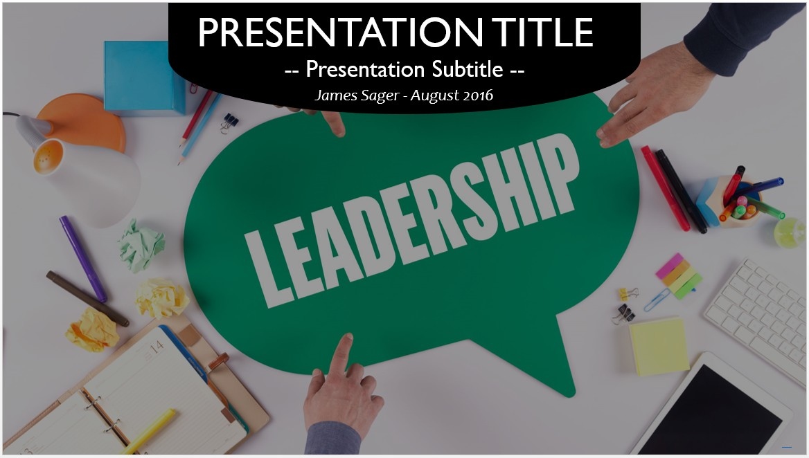 leadership powerpoint templates gallery template design ideas