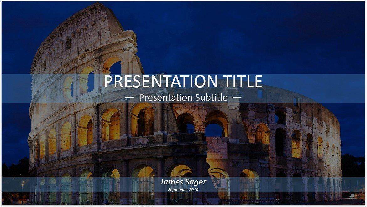 Free colosseum powerpoint 27252 sagefox powerpoint templates by james sager toneelgroepblik Image collections