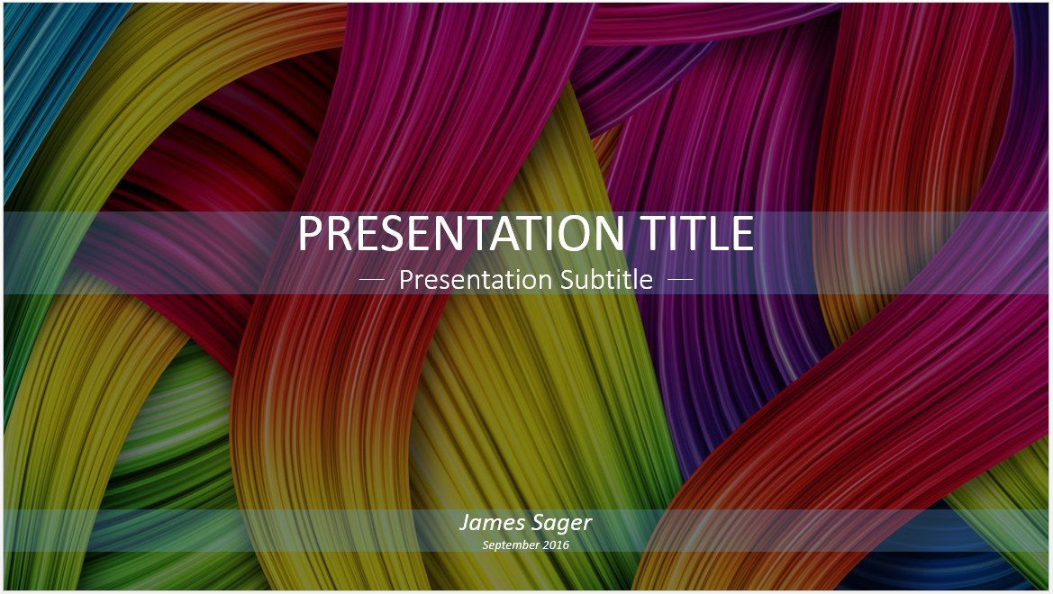 Free colorful abstract powerpoint 27257 sagefox free powerpoint by james sager toneelgroepblik Gallery