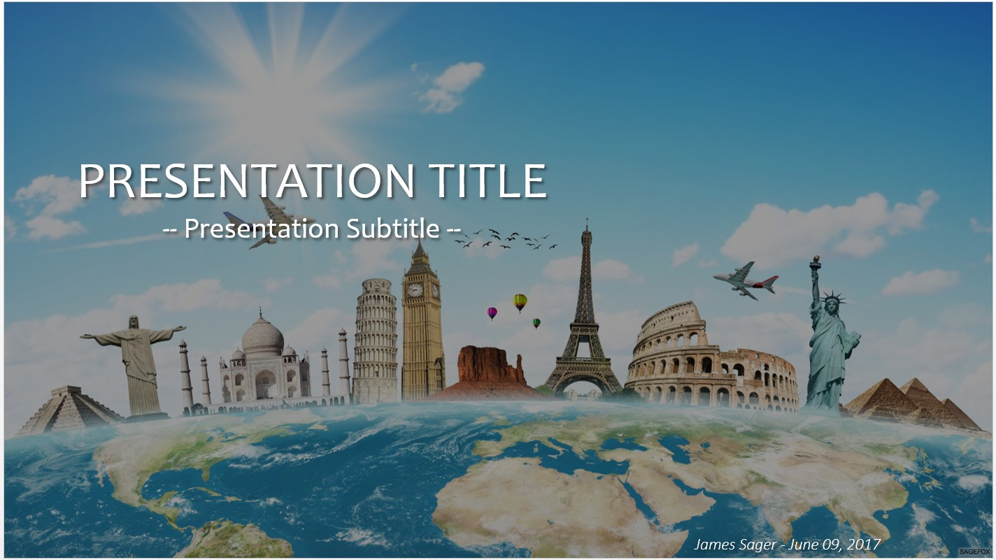 Free travel powerpoint 23901 sagefox powerpoint templates please share this free powerpoint template toneelgroepblik Images