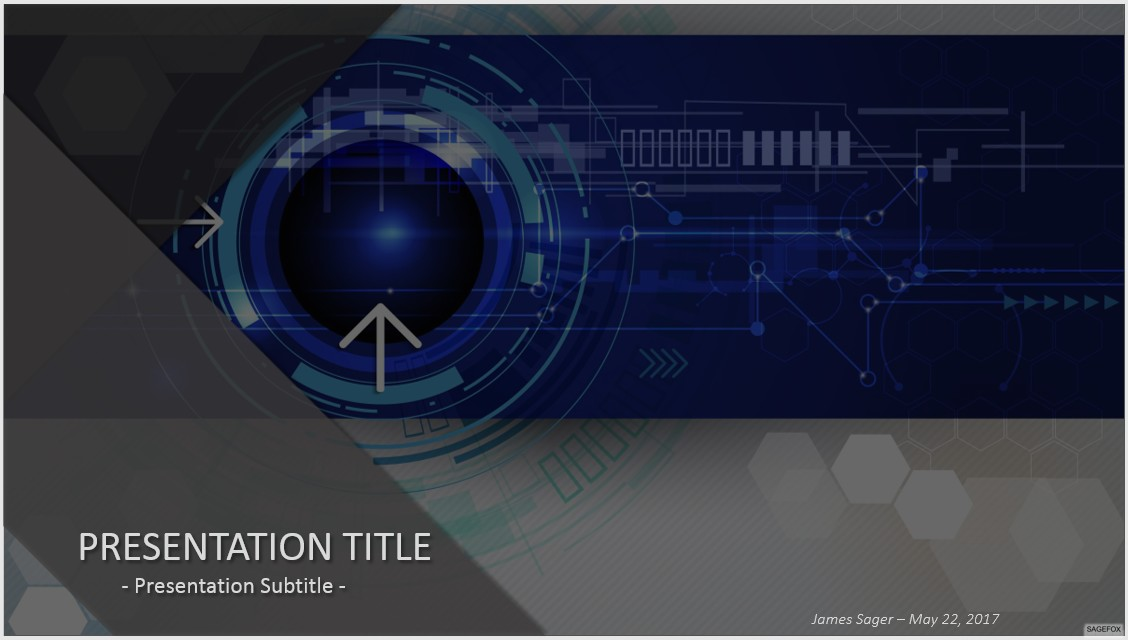 High tech powerpoint template seven ideas for impressive high tech powerpoint template solar panel on a hi tech background toneelgroepblik Choice Image