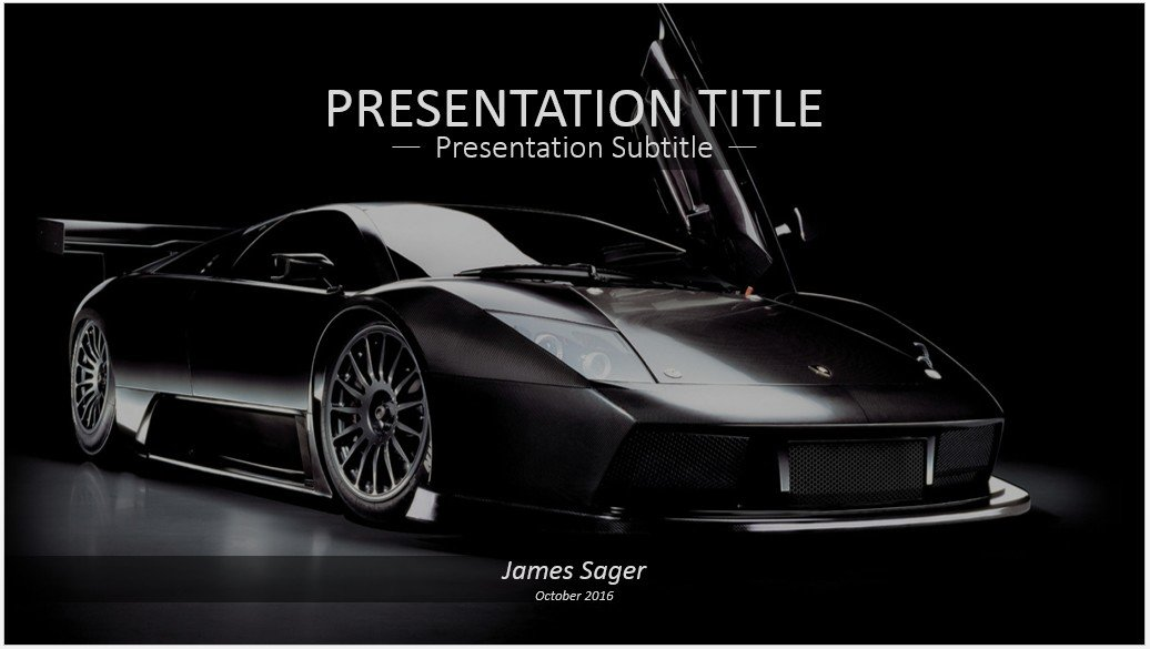Free Lamborghini Powerpoint 13923 Sagefox Free Powerpoint Templates