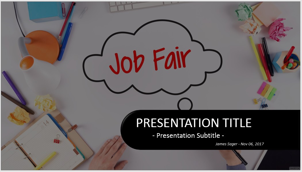 Free job fair powerpoint 32408 sagefox free powerpoint templates by james sager toneelgroepblik Image collections