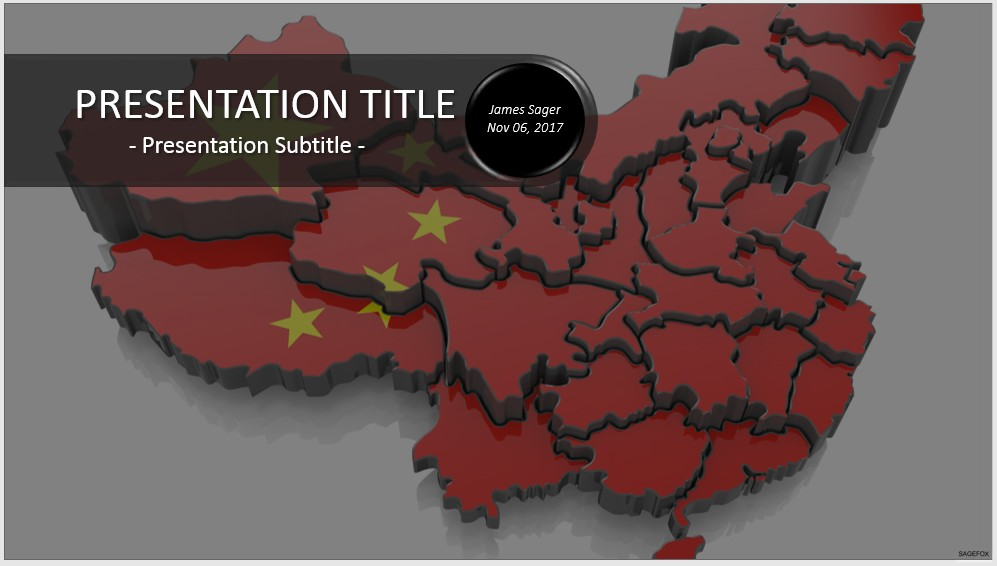 Free China Powerpoint 18084 Sagefox Powerpoint Templates