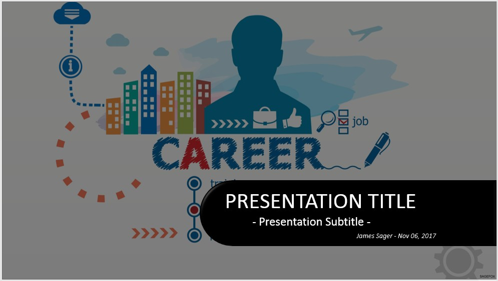 Free career powerpoint 33177 sagefox powerpoint templates please share this free powerpoint template toneelgroepblik Choice Image
