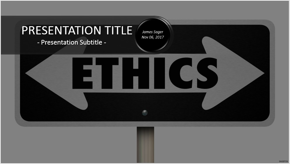 Free ethics powerpoint 33493 sagefox powerpoint templates by james sager toneelgroepblik Images