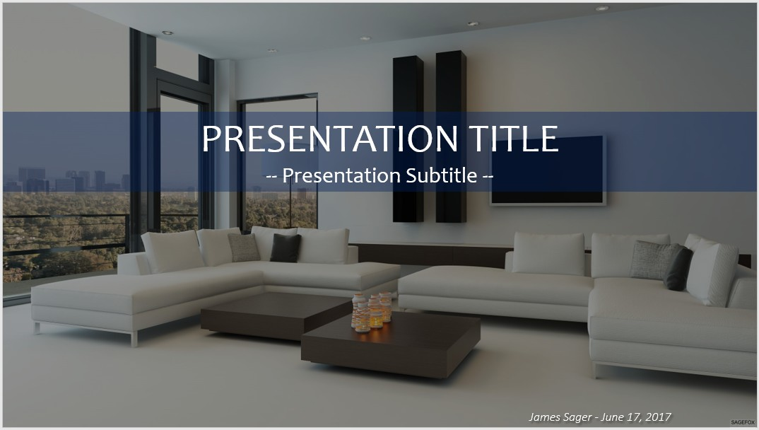 Free interior design powerpoint 34470 sagefox free for Interior design layout templates