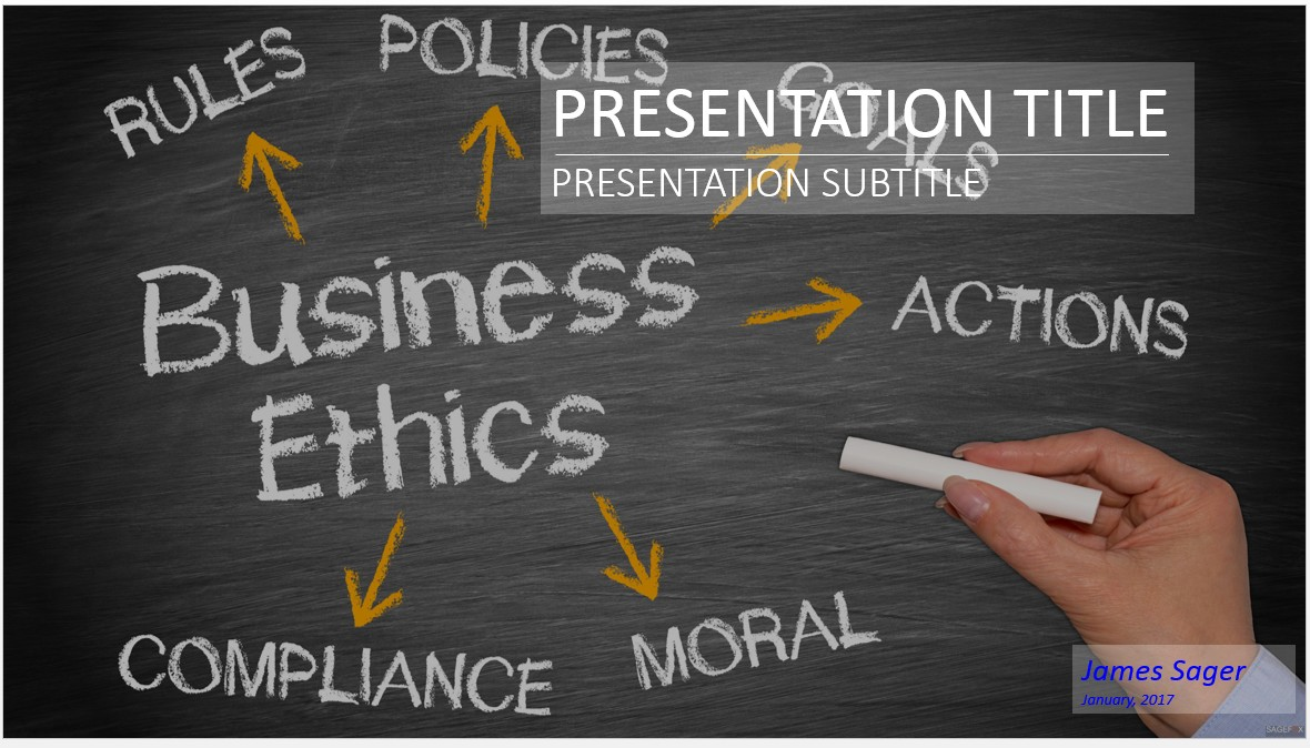Free business ethics powerpoint 28343 sagefox powerpoint templates by james sager toneelgroepblik Images