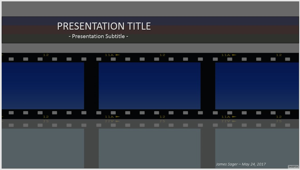 Free Animated Movie Powerpoint Templates Image Collections
