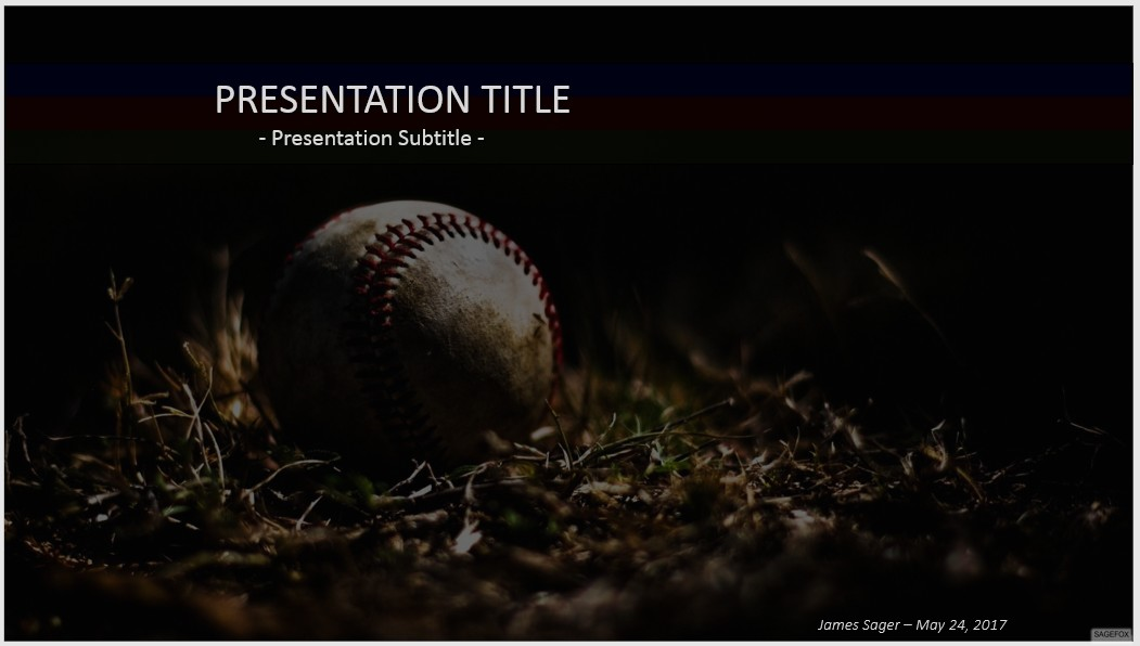 Free baseball powerpoint 37373 sagefox powerpoint templates please share this free powerpoint template toneelgroepblik Images