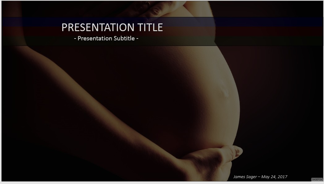 Free pregnancy powerpoint 37505 sagefox powerpoint templates by james sager toneelgroepblik Image collections