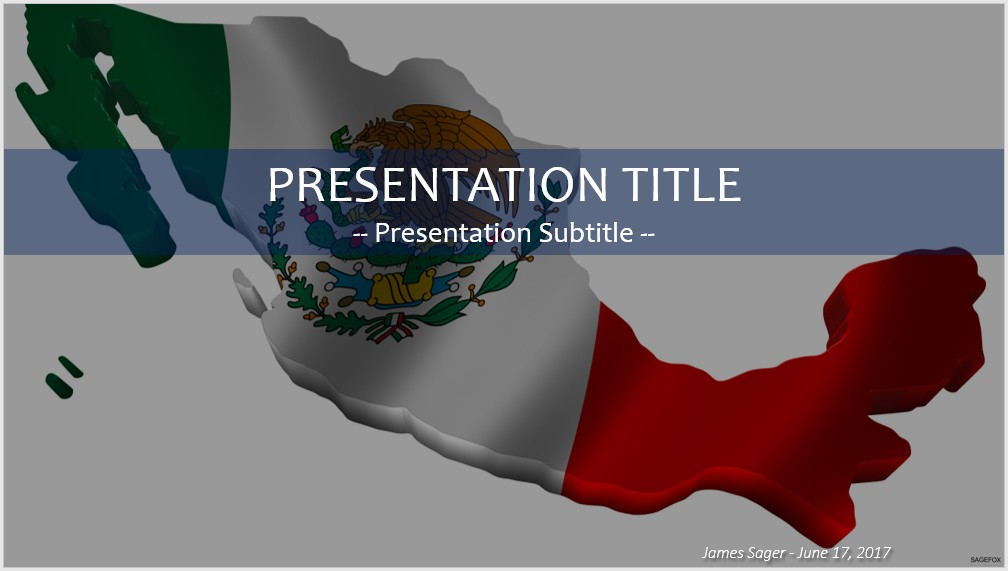 Free mexico map powerpoint 39707 sagefox powerpoint templates mexico map powerpoint toneelgroepblik Images