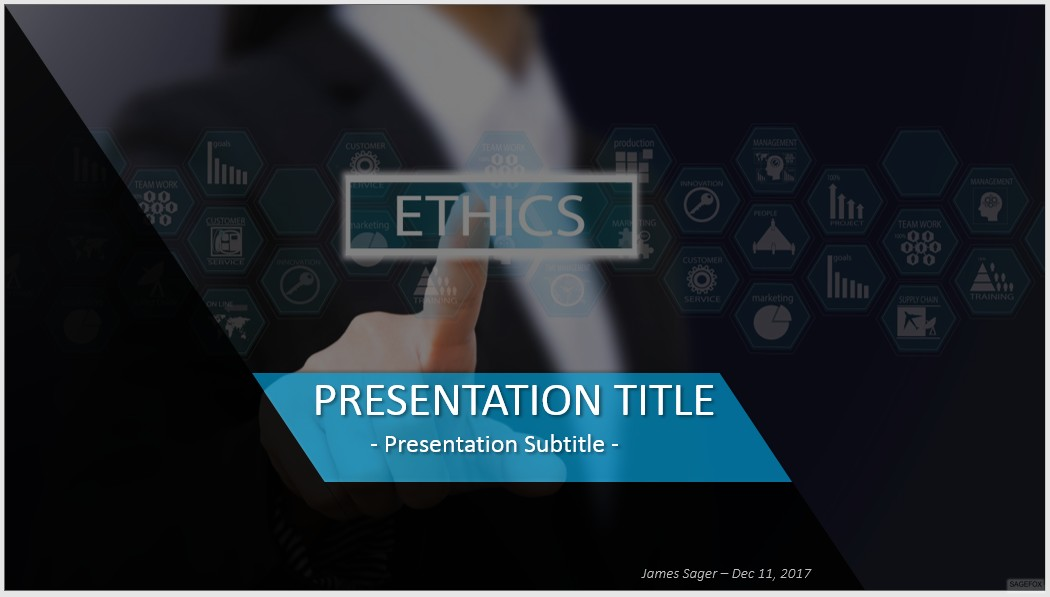 Free ethics powerpoint 39952 sagefox powerpoint templates by james sager toneelgroepblik Images