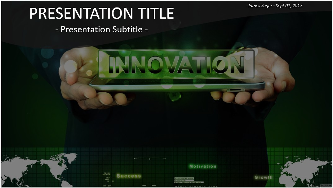 Free innovation powerpoint 28720 sagefox powerpoint templates by james sager toneelgroepblik Images