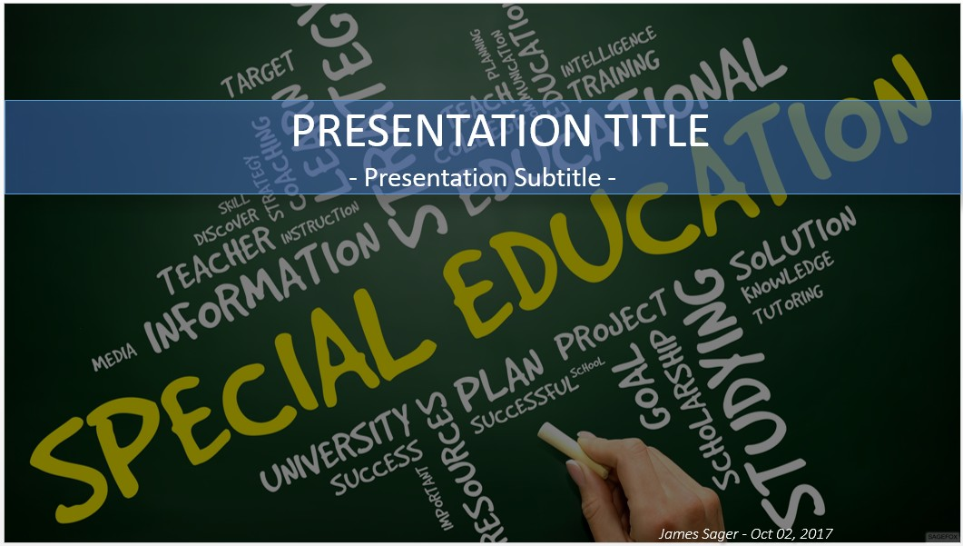 Free special education powerpoint 30082 sagefox powerpoint templates special education powerpoint toneelgroepblik Gallery