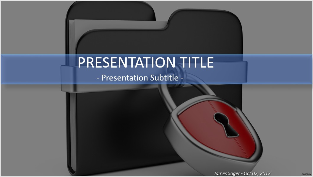 Free data security powerpoint 30508 sagefox powerpoint templates by james sager toneelgroepblik Gallery