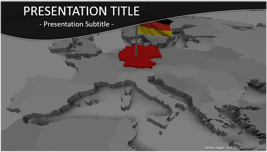 Free germany powerpoint 30789 sagefox powerpoint templates by james sager toneelgroepblik Images