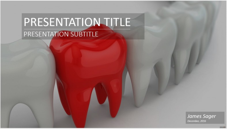 Dental Powerpoint Template Free Download Free Medical Oukasfo