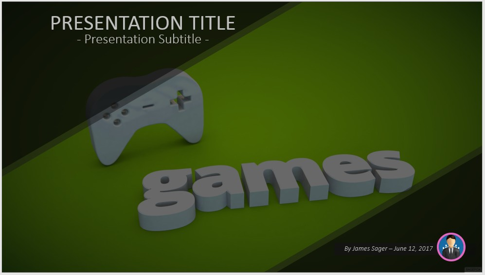 video game powerpoint template