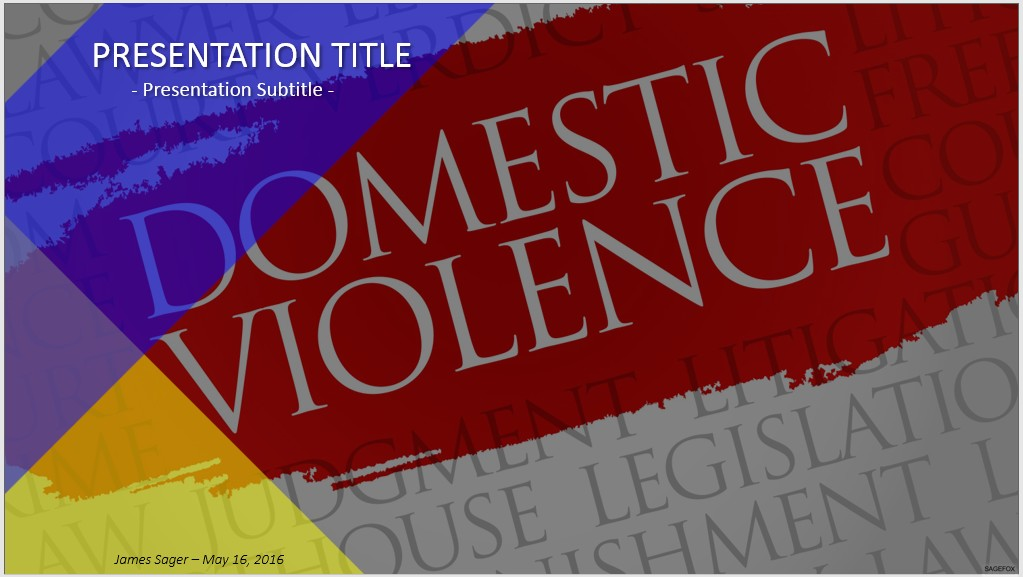 Free domestic violence powerpoint 66551 sagefox powerpoint templates domestic violence powerpoint toneelgroepblik Choice Image