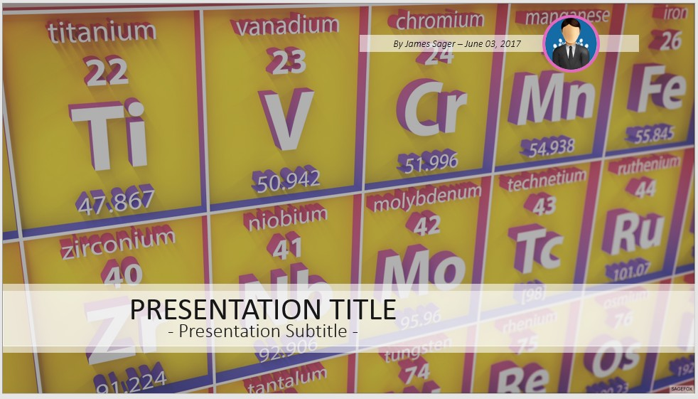 Free periodic table powerpoint 41009 sagefox powerpoint templates by james sager urtaz Choice Image