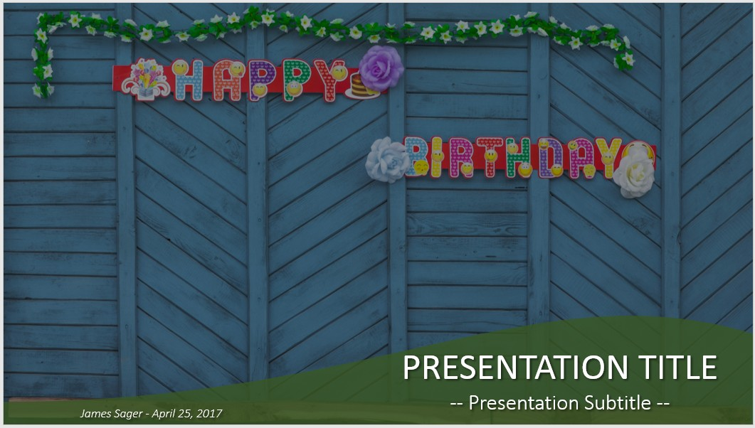 happy birthday powerpoint