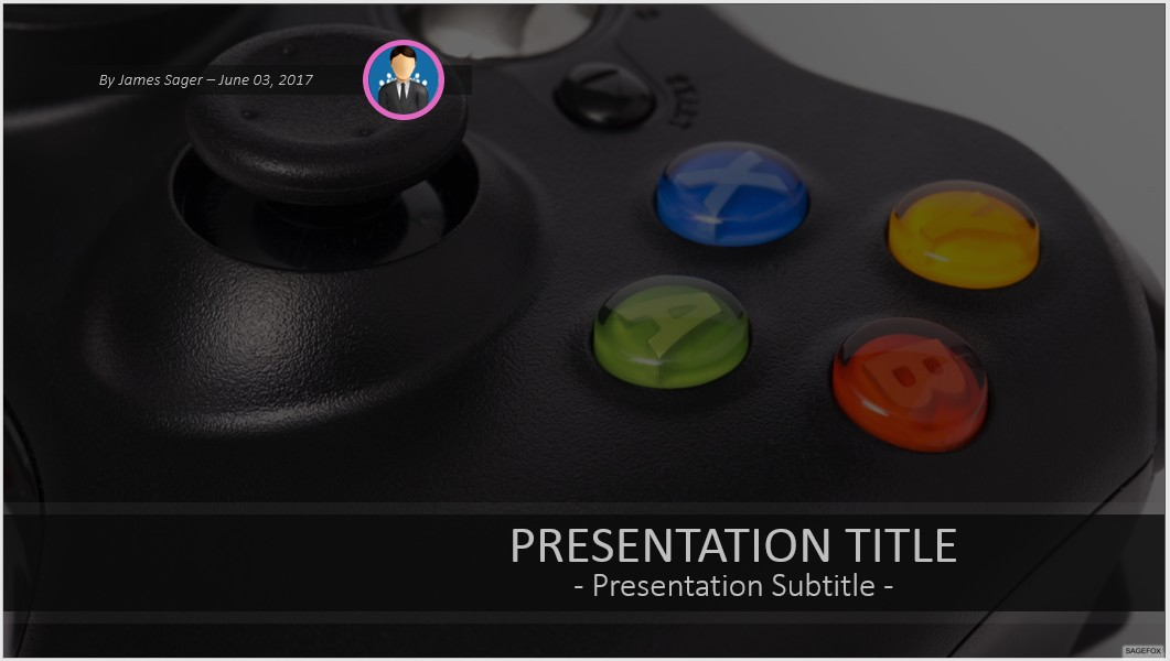 Free game controller powerpoint 43201 sagefox free powerpoint by james sager toneelgroepblik