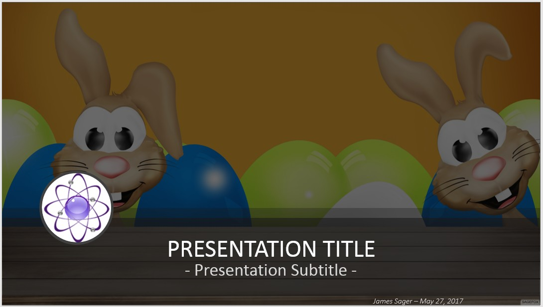 Free Easter Powerpoint   Sagefox Powerpoint Templates