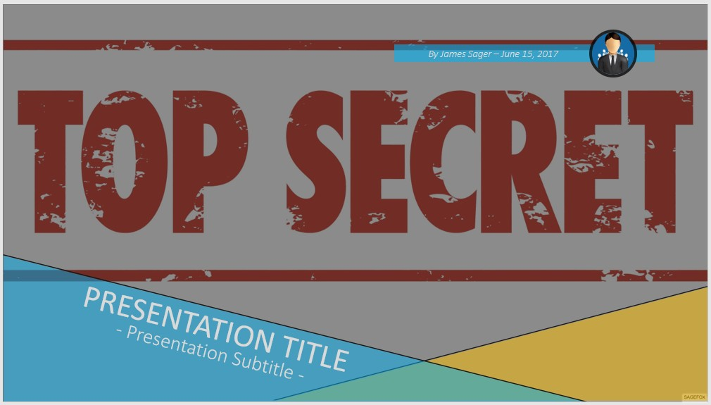 free top secret ppt 101200 sagefox powerpoint templates