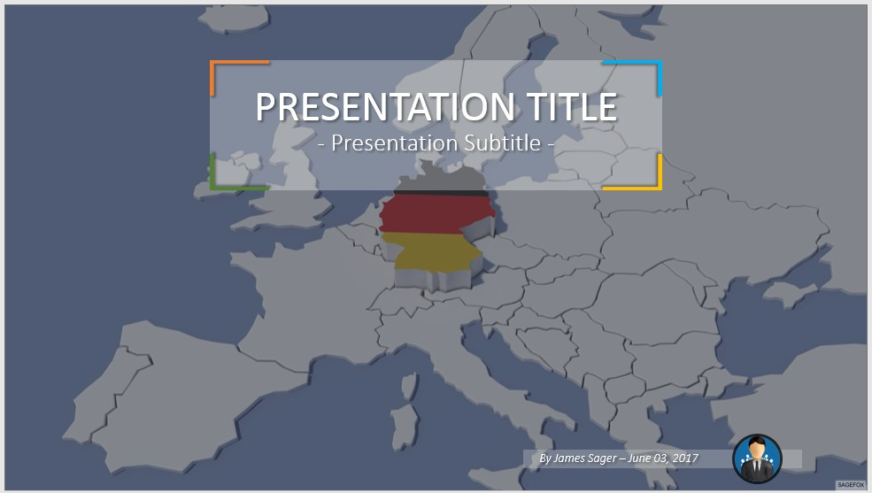 Free germany powerpoint 46813 sagefox powerpoint templates by james sager toneelgroepblik Gallery